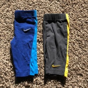 2 pair Baby Boy Nike Pants Sz 6/9 mo